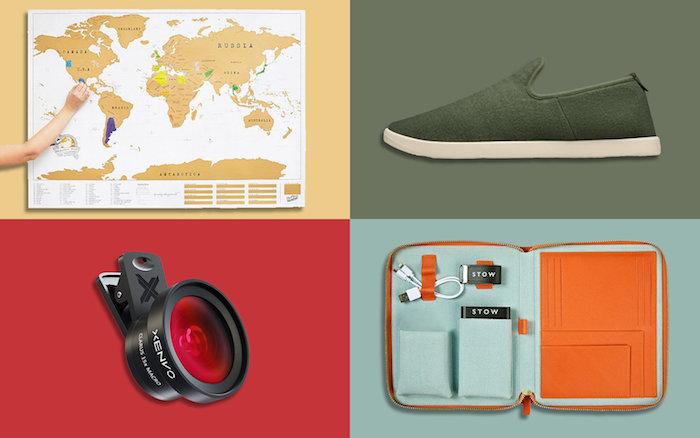 Quatre idées cadeau voyage carte à gratter, cadeau fait main, cadeau a offrir, cadeau pour voyageur