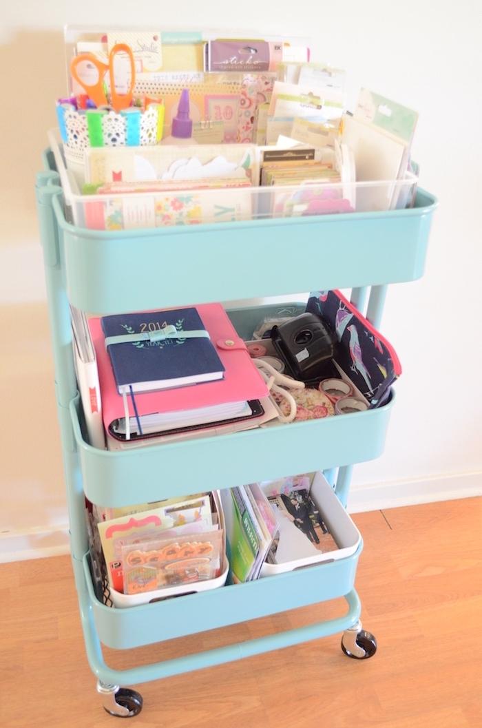 cahiers, scrapbooking materiel et fournitures du bureau, idee astuce rangement bureau, organisateur de bureau original recup