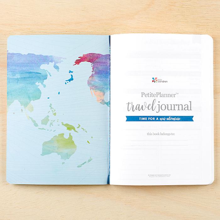 Journal de voyage cadeau diy, cadeau fait main, femme voyageur idée cadeau pour planifier ses voyages