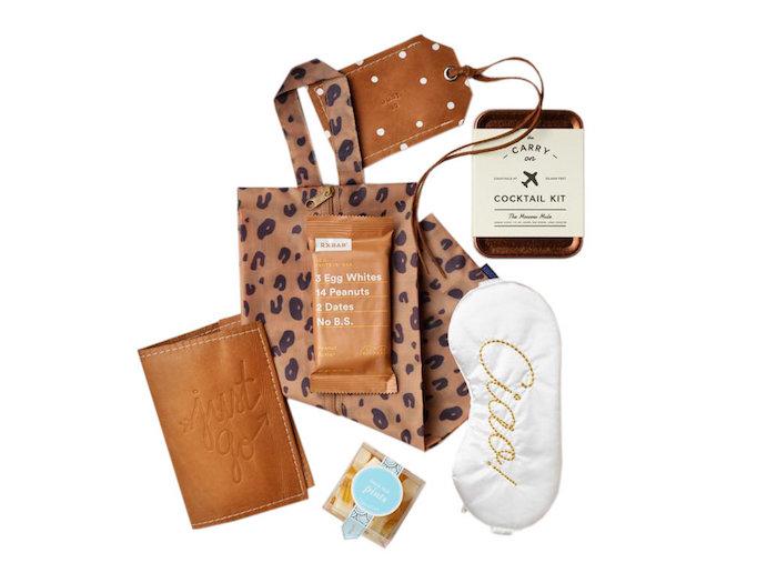 Cool kit de voyage pour femme, cocktail kit miniature, idée cadeau amie, cadeau a faire soi meme, idée pour sa meilleure amie