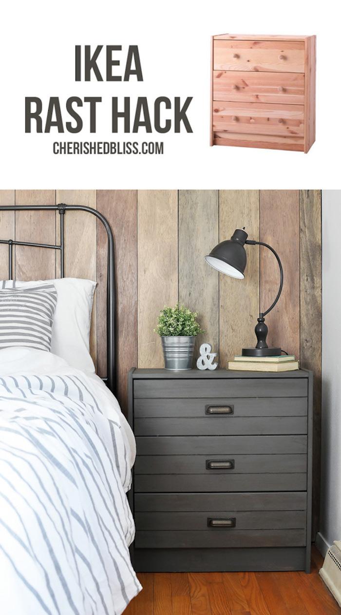 Idée ikea simple commode avec placard repeindre un meuble, idée peinture meuble cuisine ou salon