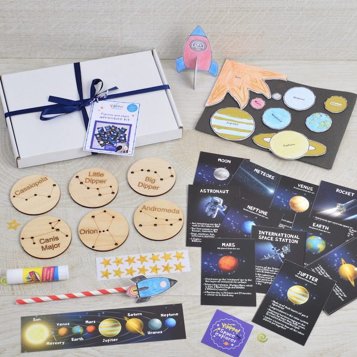 Voyage autre planetes cadeau a offrir, cadeau de voyage, idée cadeau utile pour les futures astronomes