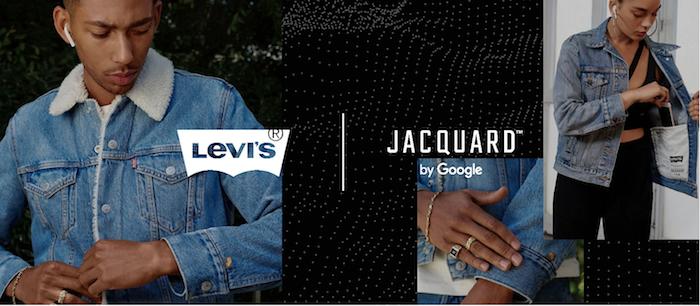 Levi's lance la Trucker Jacket et la Sherpa, deux nouvelles vestes équipées du système tactile Jacquard de Google