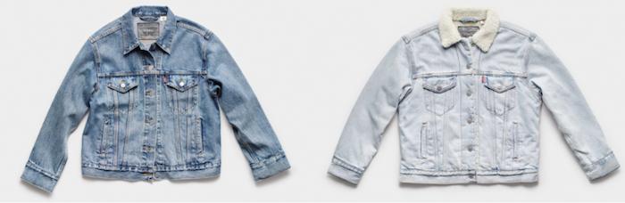 Levi's lance les vestes connectées Trucker et Sherpa, équipées de Google Jacquard, la technologie tactile pour vêtements
