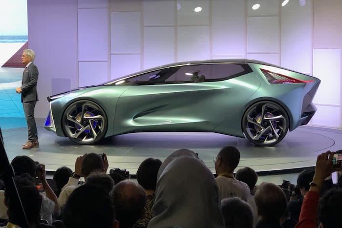 Lexus présent ses premières voitures électriques, conception d'une automobile moderne