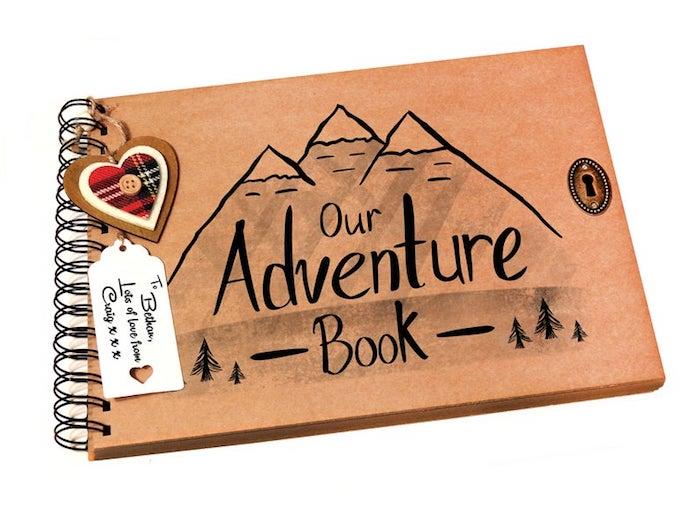 Notre livre d'aventures, idee cadeau original, idée cadeau anniversaire