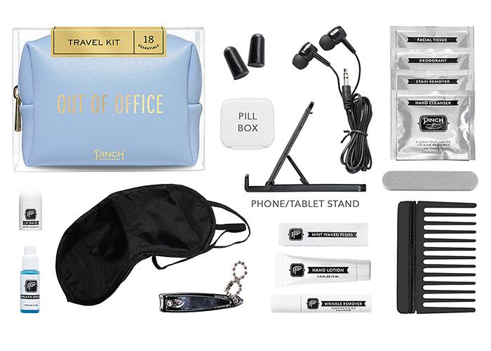 Travel kit idée cadeau personnalisé, idée cadeau amie, que prendre sur l'avion