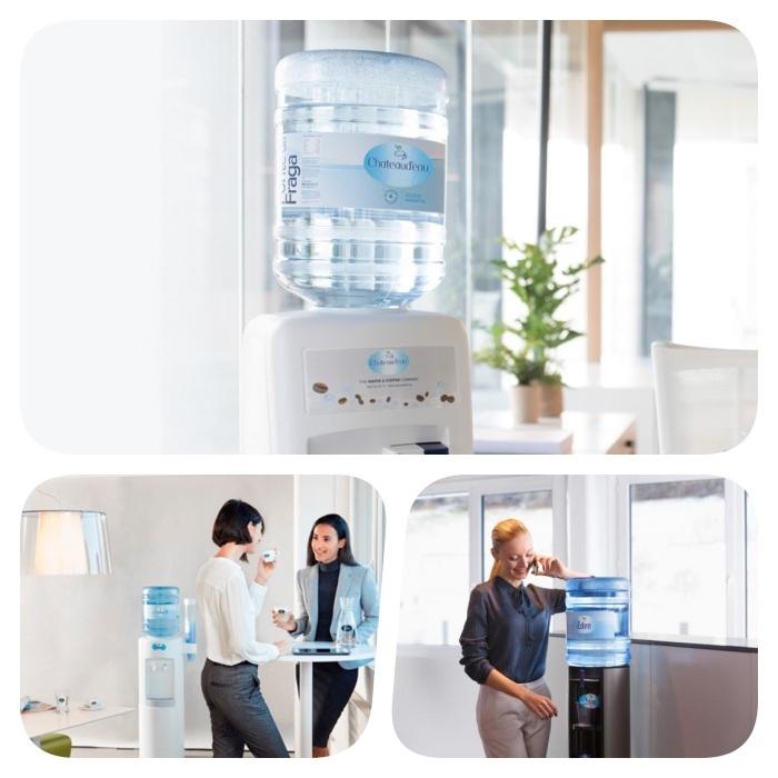 bonbonne d eau sur un distributeur d eau, idee quel distributeur d eau choisir pour entreprise