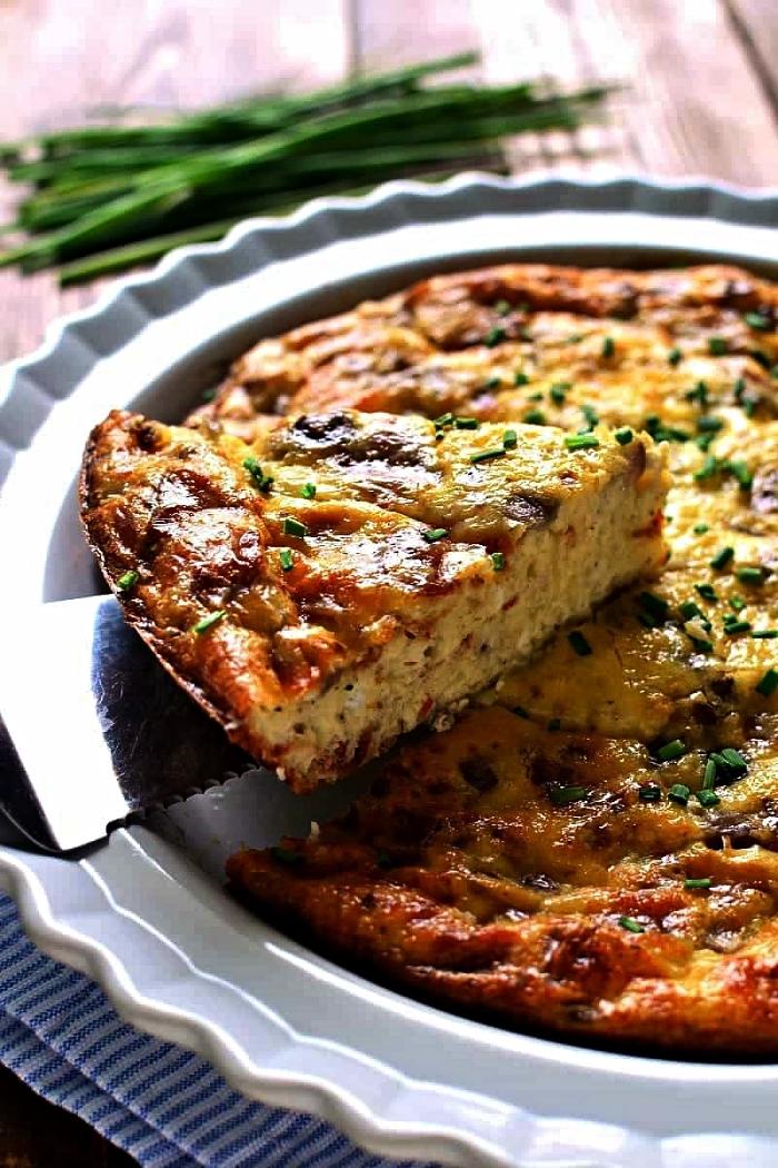 recette sans gluten de quiche lorraine aux légumes, recette allégée de quiche lorraine sans pâte