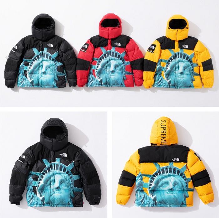 Nouvelle collaboration Supreme X The North Face pour une collection capsule hivernale 2019, incluant la doudoune Baltoro Jacket