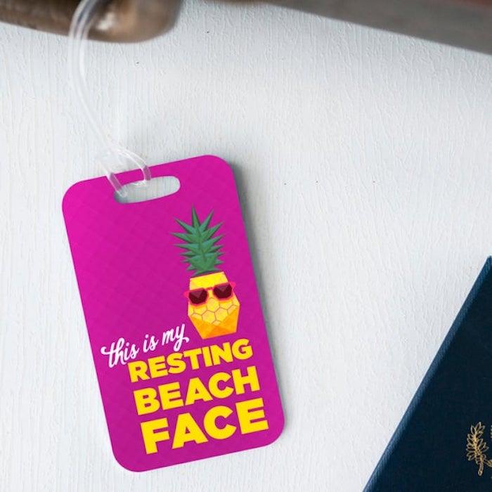Ananas pour la plage idée cadeau personnalisé, cadeau original pour sa meilleure amie