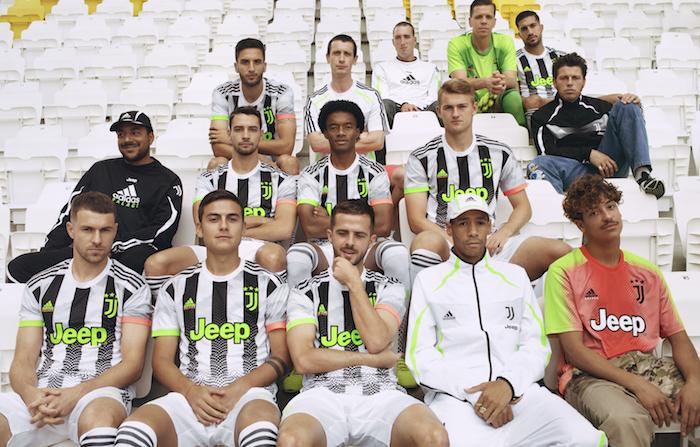 Juventus X Palace : le club de la Juve collabore avec la marque Palace et Adidas pour la création d'un nouveau maillot