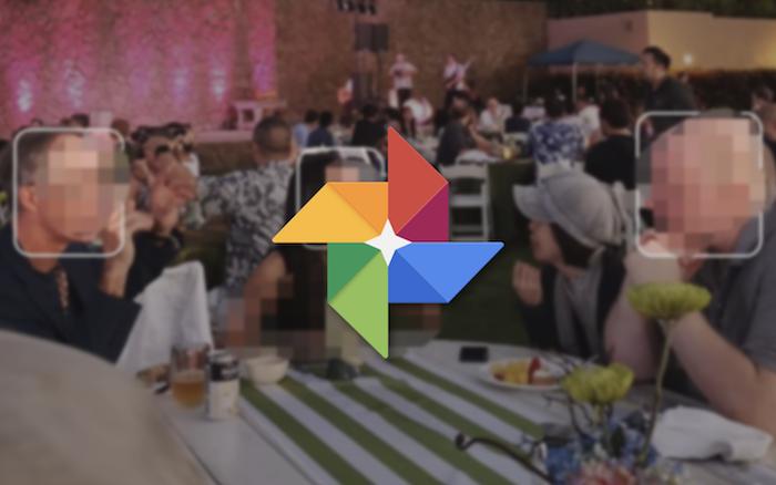 Afin de combler les omissions de la reconnaissance faciale automatique, Google Photos propose une d'identification manuelle des visages