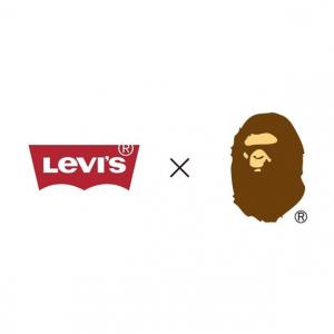 Levi's X BAPE : la marque japonaise va s'associer à Levi's le temps d'une collection