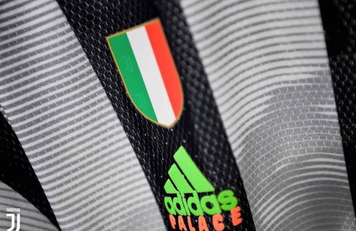 Palace X Juventus, le club turinois de la Vieille Dame et Adidas créent un nouveau maillot avec la marque de skate Palace Skate