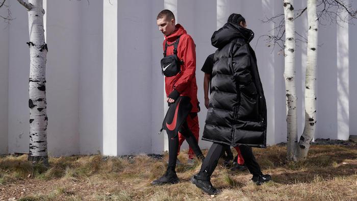 Nike et Matthew Williams présentent leur troisième collaboration Nike x MMW Series 003 orientée sportswear outdoor