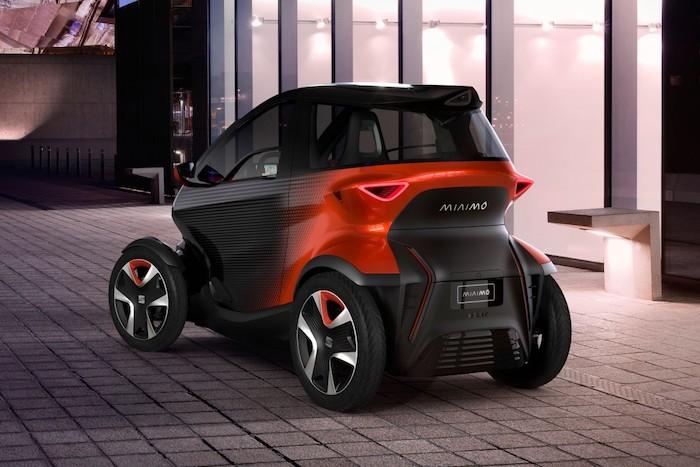 Seat se lance dans le deux-roues avec l eScooter, un scooter 125 cm3 électrique