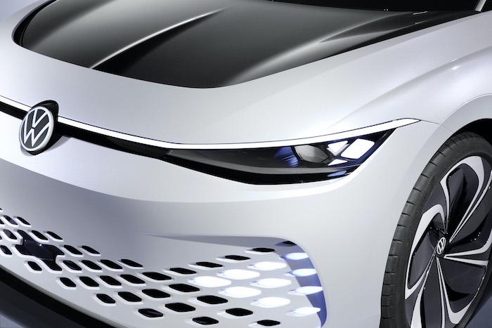 Volkswagen a présenté le prototype de la version break de sa future Vizzion électrique