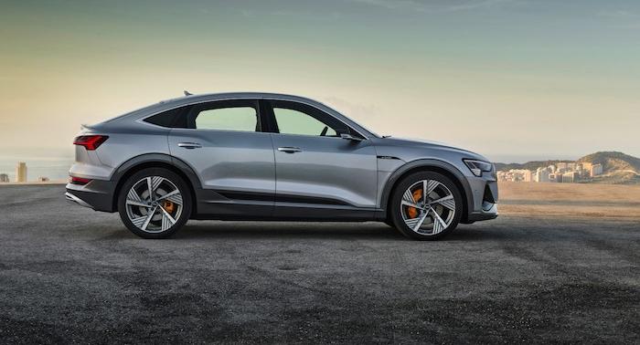 Audi a dévoilé le E-Tron Sportback lors du salon de l'Auto Show de Los Angeles
