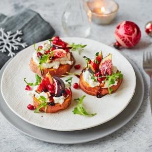Le toast de Noël - mille idées gourmandes