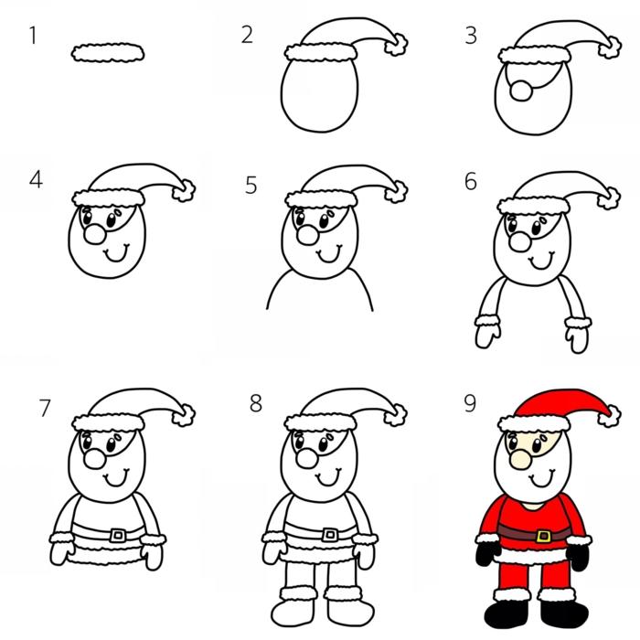 1001 Idees De Dessin De Noel Faciles A Faire Soi Meme