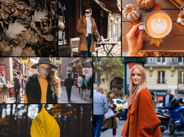 quel modèle de manteau femme hiver 2020, look d'hiver chic en blouse blanche et jeans foncés avec manteau faux fur marron