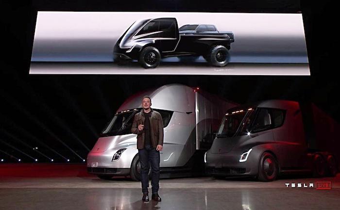 Le pick up électrique de Tesla Cybertruck arrive le 21 novembre, avant celle du Ford F-150 et des Rivian, GM ou Bollinger