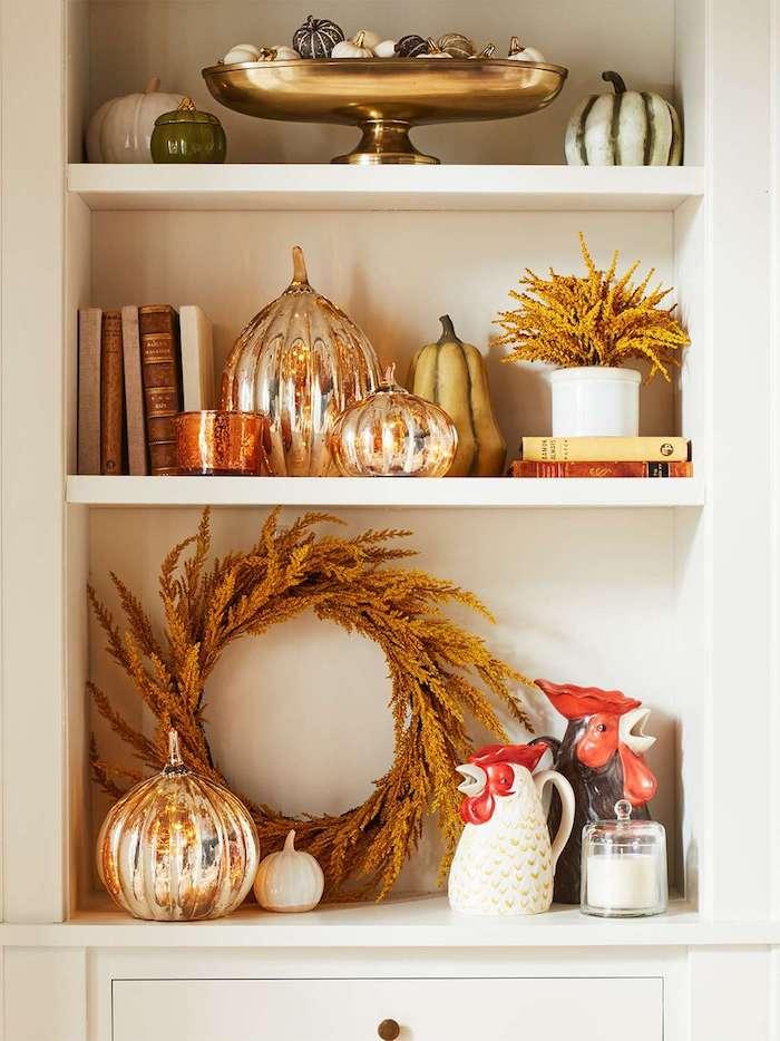 Action de grâce déco, objets décoration Thanksgiving, diy déco chambre, grand vase deco a poser au sol diy