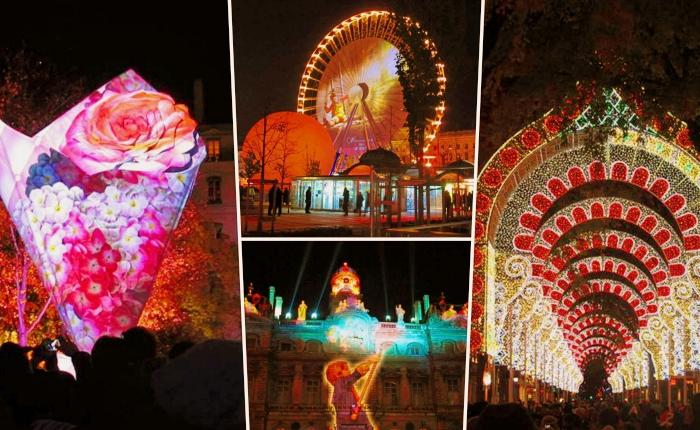 animations et spectacles lors de la fête des Lumières à Lyon, le meilleur temps pour organiser une visite à Lyon