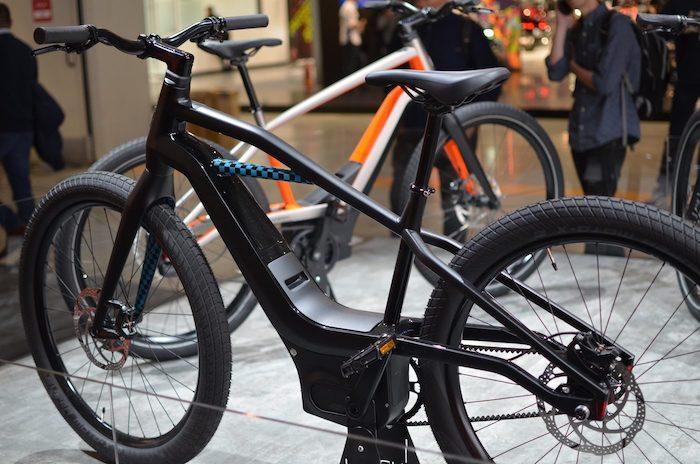 malgré la présentation de ses prototypes de vélos électriques, Harley-Davidson n'a pas communiqué d'informations les concernant