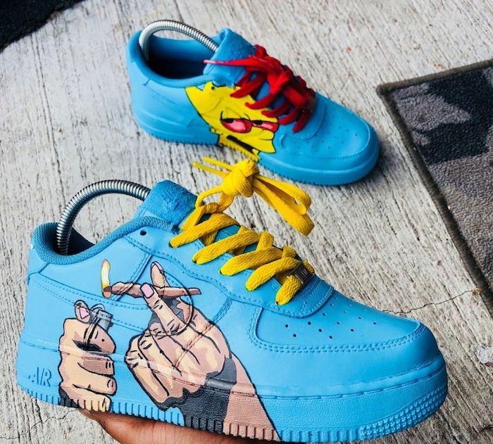 chaussure nike custom