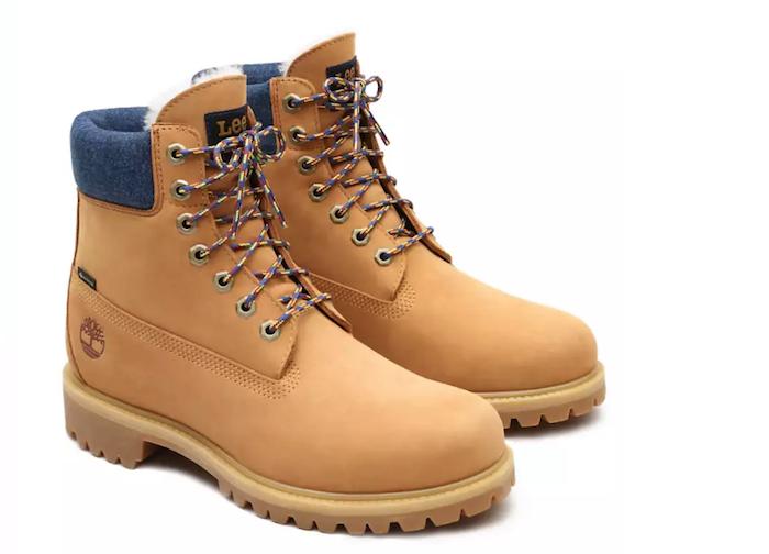 Dans le cadre de la collection Timberland, la marque lance une édition limitée de ses boots Lee X Timberland 6-Inch Premium