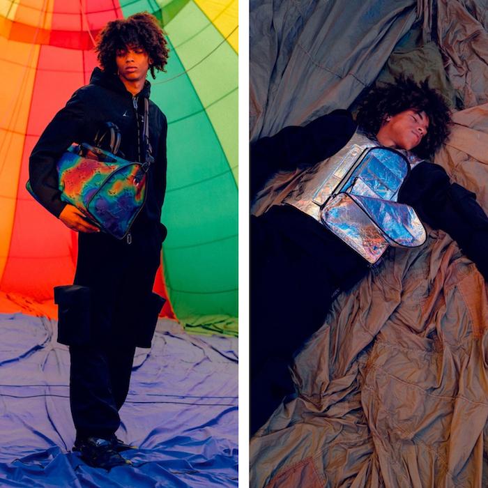 La collection Louis Vuitton 2054 de Virgil Abloh s'inspire du trekking et du futur