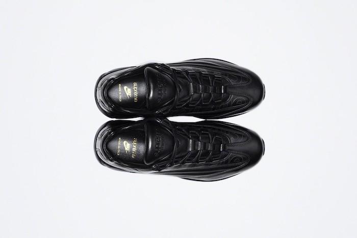 Supreme Air Max 95 Lux, la paire de sneakers de luxe tout en cuir fabriquée en Italie