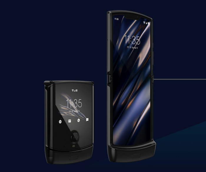 Motorola vient d'annoncer le lancement du Razr avec écran pliable pour janvier 2020