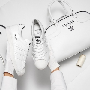 Prada x Adidas : la Superstar s'habille en Prada