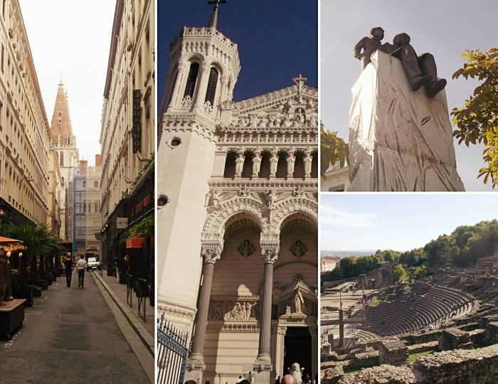 patrimoine culturel de la ville de Lyon, idée quels endroits et monuments visiter quand on est à Lyon, photo vieux lyon