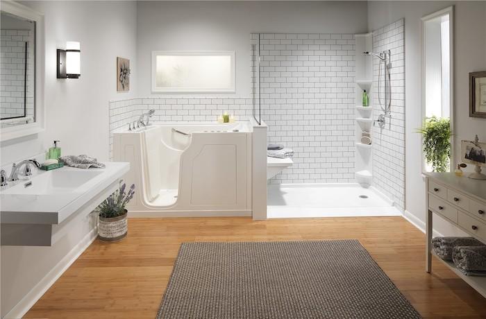 Comment-avoir-une salle de bain confortable, bien chauffé et sans humidité