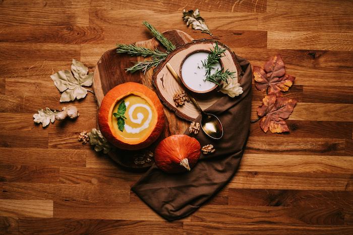 recette velouté de courge potimarron archzine, soupe butternut lait de coco pour votre repas vegan facile