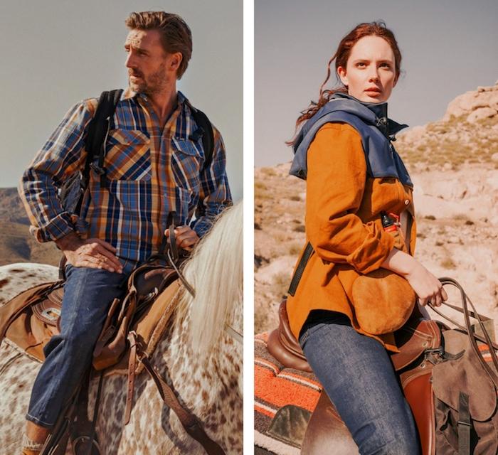 Les deux marques américaines de vêtements outdoor s'associent le temps d'une collab Lee X Timberland