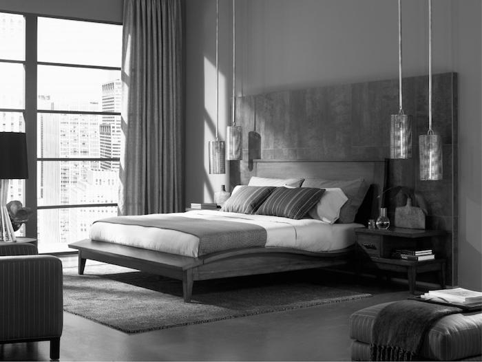 Anthracite déco tout gris, déco chambre gris et rose, quelle couleur avec le gris associer