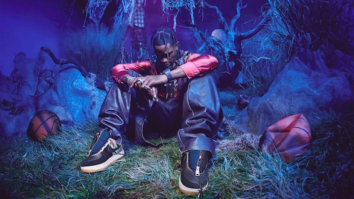 """Nike et Travis Scott ont annoncé l'arrivée prochaine de la Travis Scott X Air Force 1 Low """"Cactus Jack"""""""