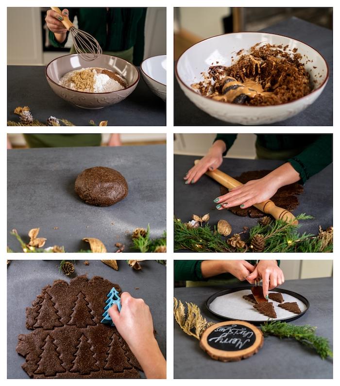 biscuit sans gluten fait maison, recette biscuit noel au pain d épice gingembre et mélasse