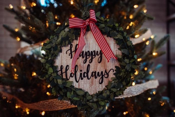 images fetes de fin d année gratuites, quelle photo pour fond d'écran ordinateur pour Noel, photo avec décoration de noel