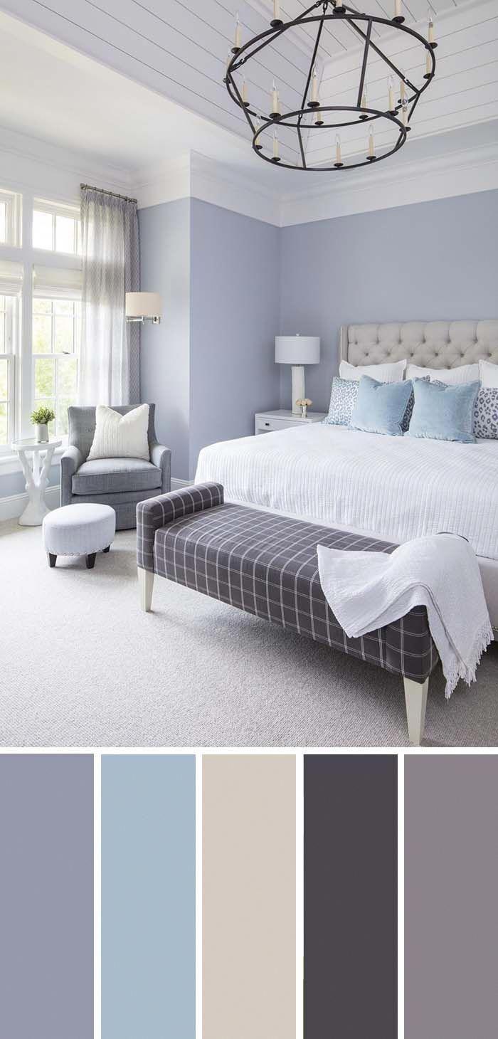 Comment organiser sa chambre, les nuances de couleurs qui s'associent bien, idée peinture chambre, quelle couleur pour une chambre originale