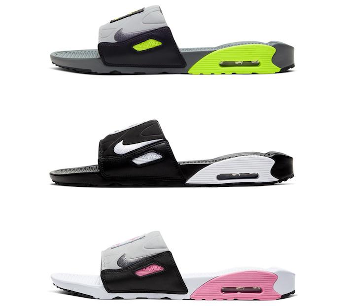 En vue des 30 ans de la Air MAx 90, Nike a présenté la claquette Air Max 90 Slide