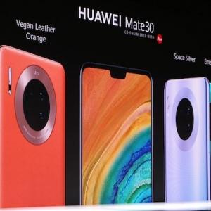 Huawei lance le Mate 30, son 1er smartphone sans composant américain