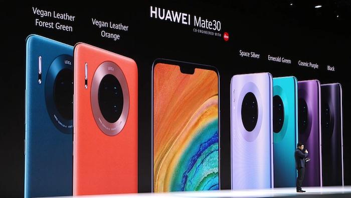Huawei a commercialisé son Mate 30, premier smartphone sans composant d'origine américaine