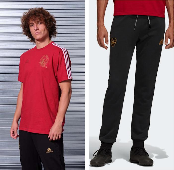 Manchester United et Arsenal s'adressent à leurs fans chinois avec une collection Adidas spéciale pour le nouvel an