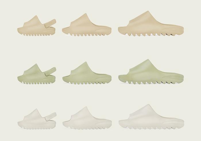 Après avoir été teasée par Kim Kardashian en octobre, la sandale en plastique Yeezy Slide arrive ce 6 décembre